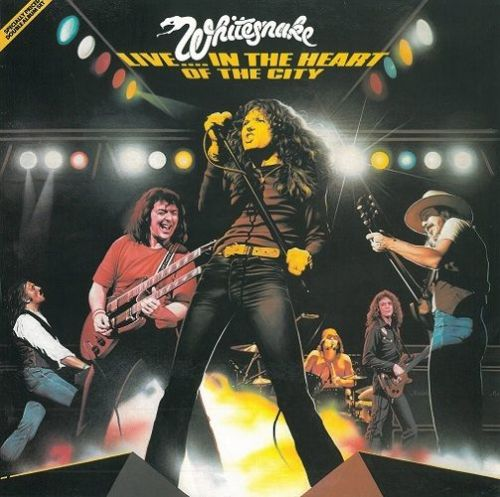 WHITESNAKE Live In The Heart Of The City Vinyl Record LP Liberty